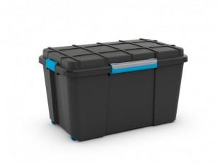 2547b3d9c Plastový box Scuba s víkem XL černý